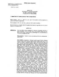 Arrete ministere reconnaissance calamite agricole