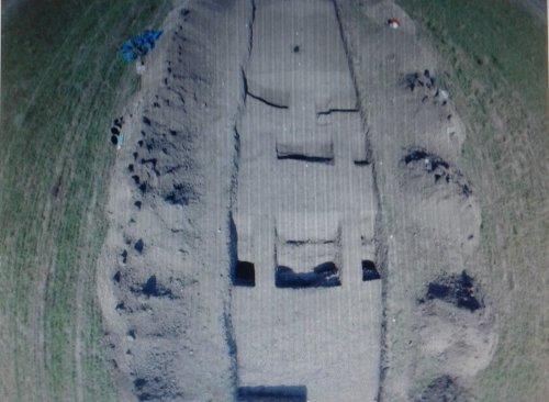 Photo des fouilles