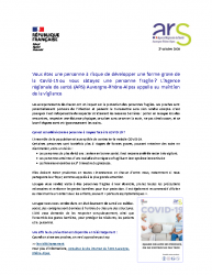 INFO COVID – ARS – OCT 2020