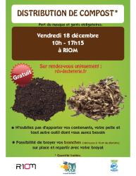 Affiche distributioncompost Riom