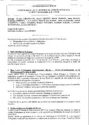 REUNION CONSEIL MUNICIPAL 17 NOVEMBRE 2020