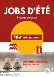 RLV INFO JEUNES – JOBS D'ETE