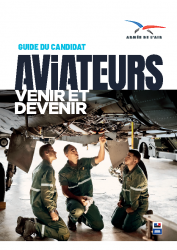 ARMEE DE L'AIR – guide devenir aviateur