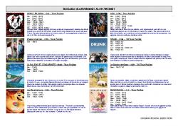 ARCADIA RIOM programme 26 mai – 1er juin