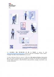 INFOS COVID – Ministère de la Santé