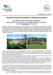 RLV – PLUi concertation de la population