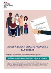 ACCES A LA NATIONALITE FRANCAISE