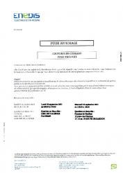 ENEDIS COUPURE COURANT 20 et 22 septembre 2021(1)
