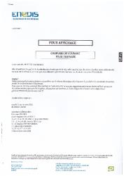 ENEDIS COUPURE COURANT 21 SEPTEMBRE 2021