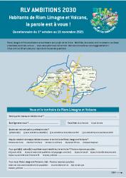 Questionnaire projet territoire